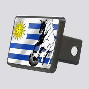 Uruguay Soccer Flag Rectangular Hitch Cover
