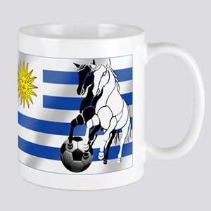 Uruguay Soccer Flag Mug