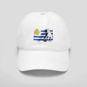 Uruguay Soccer Flag Cap