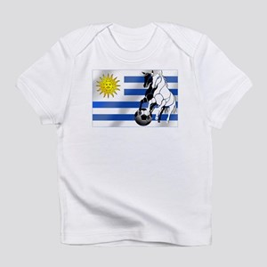 Uruguay Soccer Flag Infant T-Shirt