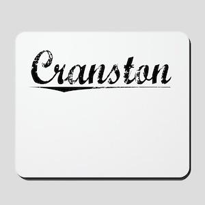 Cranston, Vintage Mousepad