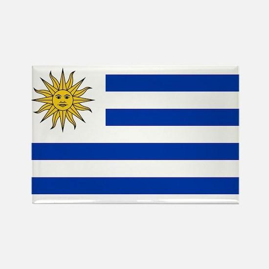 Flag of Uruguay Rectangle Magnet