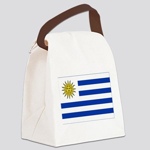 Flag of Uruguay Canvas Lunch Bag