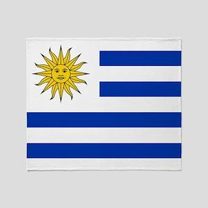 Flag of Uruguay Throw Blanket