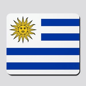 Flag of Uruguay Mousepad