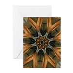 Harp Lines 8 pt Greeting Cards