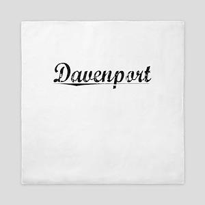Davenport, Vintage Queen Duvet