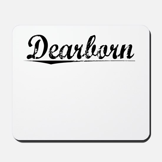 Dearborn, Vintage Mousepad