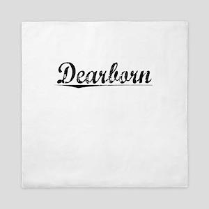 Dearborn, Vintage Queen Duvet
