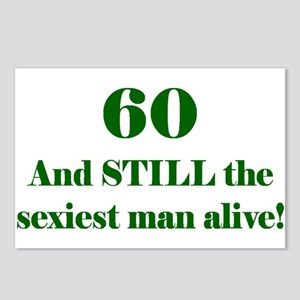 60 Still Sexiest 2 Green Postcards (Package of 8)