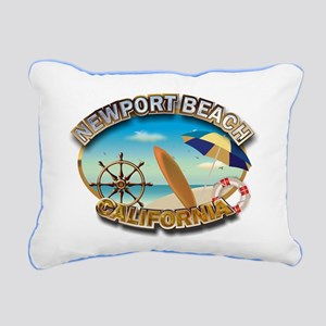 CA Rectangular Canvas Pillow