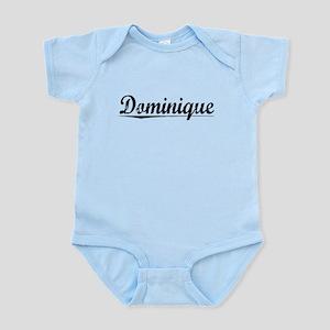 Dominique, Vintage Infant Bodysuit