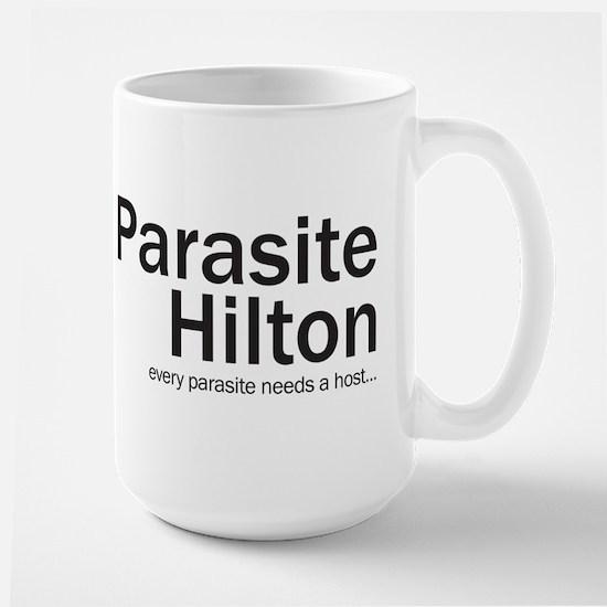 Parasite Hilton Large Mug