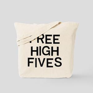 Free Fives Tote Bag