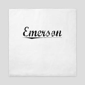 Emerson, Vintage Queen Duvet