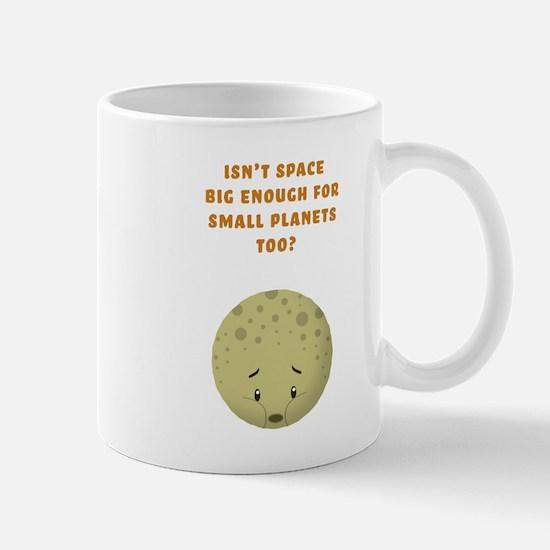 Sad Pluto Mug