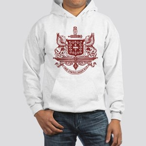 Psi Upsilon Fraternity Crest in Hooded Sweatshirt
