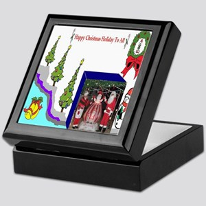 Happy Christmas Santa Keepsake Box