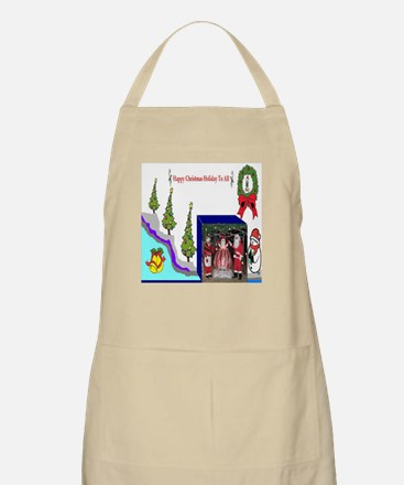 Happy Christmas Santa Apron