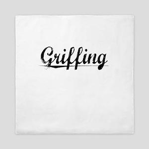 Griffing, Vintage Queen Duvet