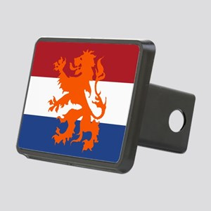 Holland Lion Rectangular Hitch Cover