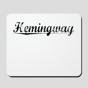 Hemingway, Vintage Mousepad