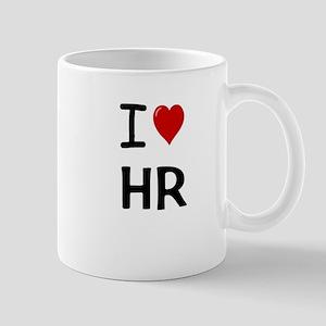 I Love HR Human Resources Mug