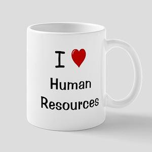 I Love Human Resources HR Mug
