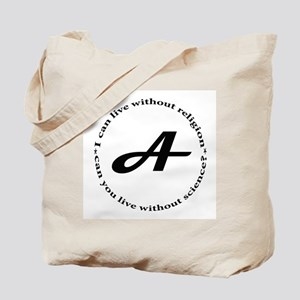 Life without Religion Tote Bag