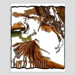 wild thing art illustration Small Poster