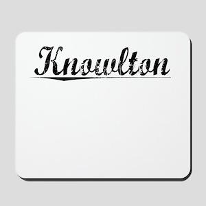 Knowlton, Vintage Mousepad