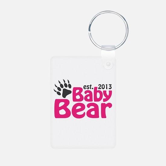Baby Bear Claw Est 2013 Keychains