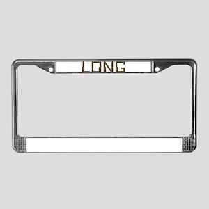 Long Circuit License Plate Frame