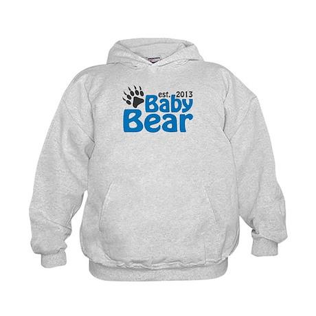 Baby Bear Claw Est 2013 Kids Hoodie