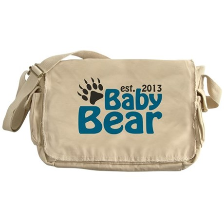 Baby Bear Claw Est 2013 Messenger Bag