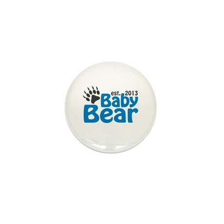 Baby Bear Claw Est 2013 Mini Button (10 pack)