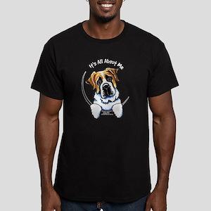 Saint Bernard IAAM Men's Fitted T-Shirt (dark)