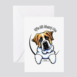 Saint Bernard IAAM Greeting Card