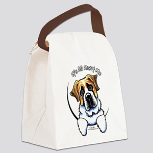 Saint Bernard IAAM Canvas Lunch Bag