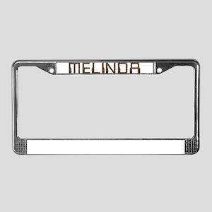 Melinda Circuit License Plate Frame