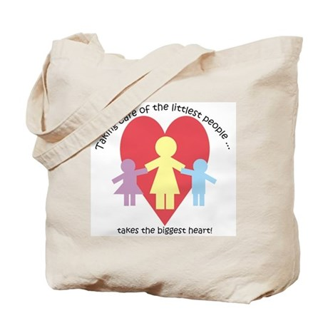 Littlest People Tote Bag