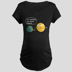 Humans... Maternity Dark T-Shirt