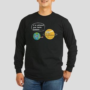 Humans... Long Sleeve Dark T-Shirt