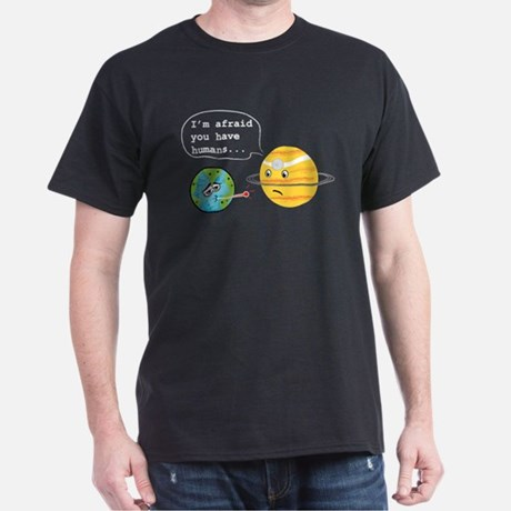 Humans Planets Men's Classic T-Shirt