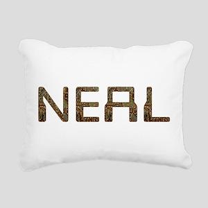 Neal Circuit Rectangular Canvas Pillow