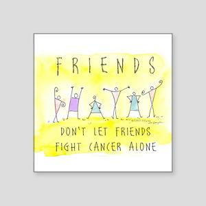 Cancer Friends Rectangle Sticker
