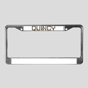 Quincy Circuit License Plate Frame