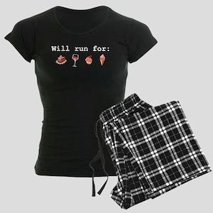Will run for Women's Dark Pajamas