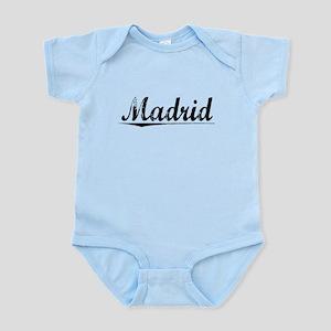 Madrid, Vintage Infant Bodysuit