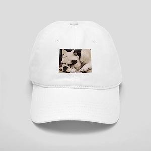 French Bulldog laying Cap